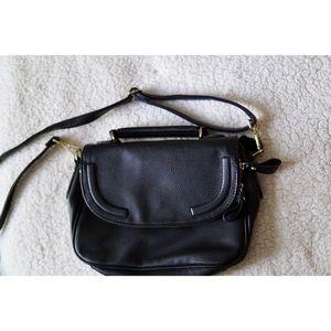 H&M Black Satchel! Good used condition!